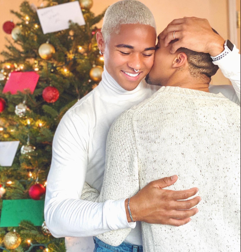 Gay couple's engagement photos go viral after they took to Twitter to announce their engagement