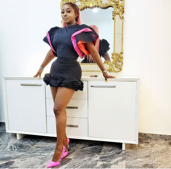 Actress Ini Edo flaunts her curvaceous body in new photos