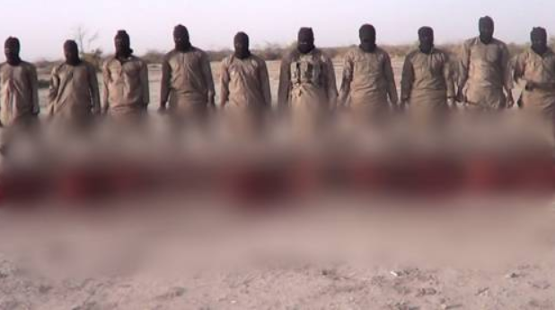 ISWAP releases a video claiming they beheaded 11 Christian hostages on Christmas day