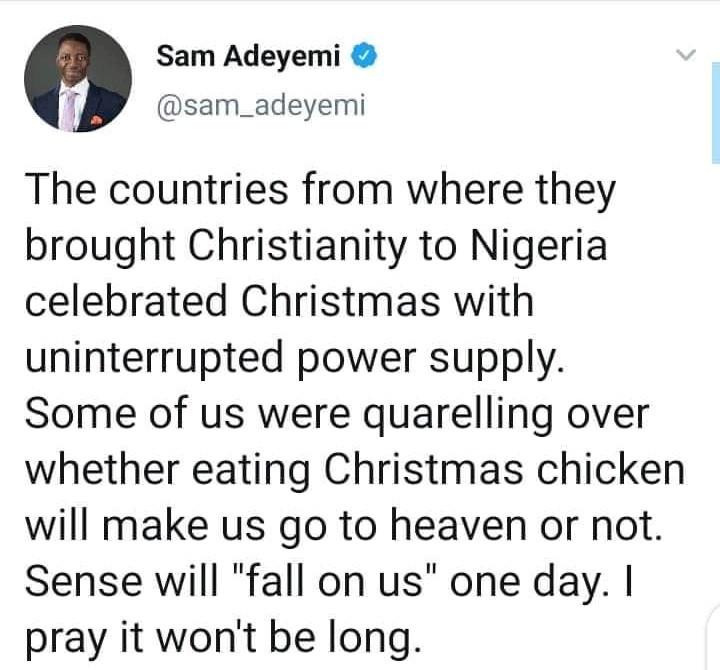 "Daystar Senior Pastor, Sam Adeyemi responds to Christians criticizing Christmas as ""unbiblical"""