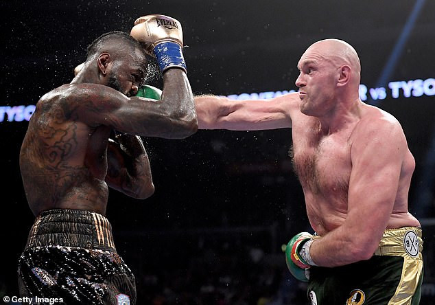 Deontay Wilder and Tyson Fury rematch announced for February 22 in Las Vegas