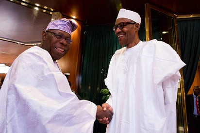 Obasanjo warns of an impending bankruptcy under Buhari