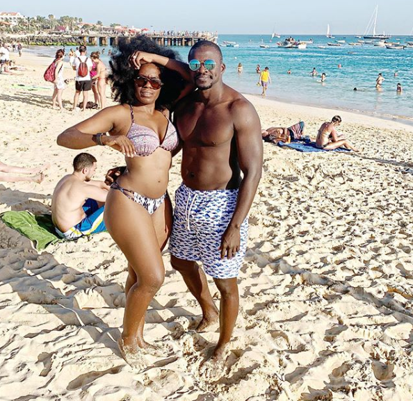 Media personality, Shade Ladipo finally goes on a honeymoon with her husband one year after their wedding
