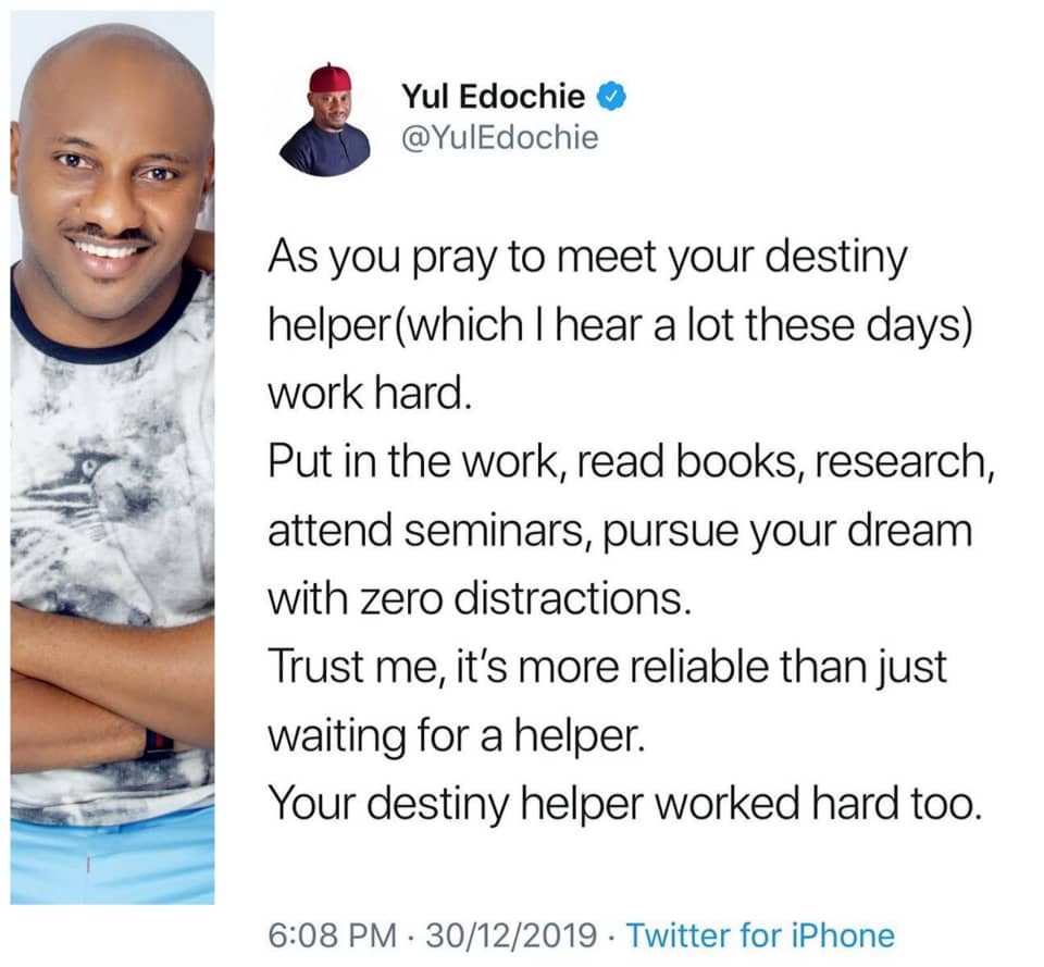 Check out actor, Yul Edochie