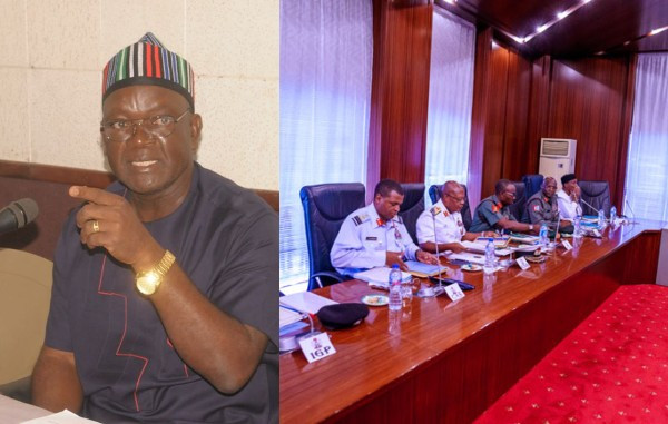 Governor Ortom of Benue state cries out as military moves to withdraw soldiers from fighting internal insurgency