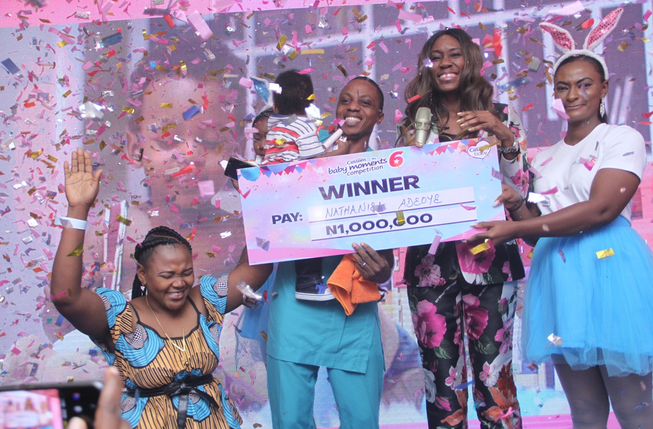The Cussons Baby Moments 6 winner is her,e! Baby Nathaniel Adeoye is Crowned Baby of The Year 2019!