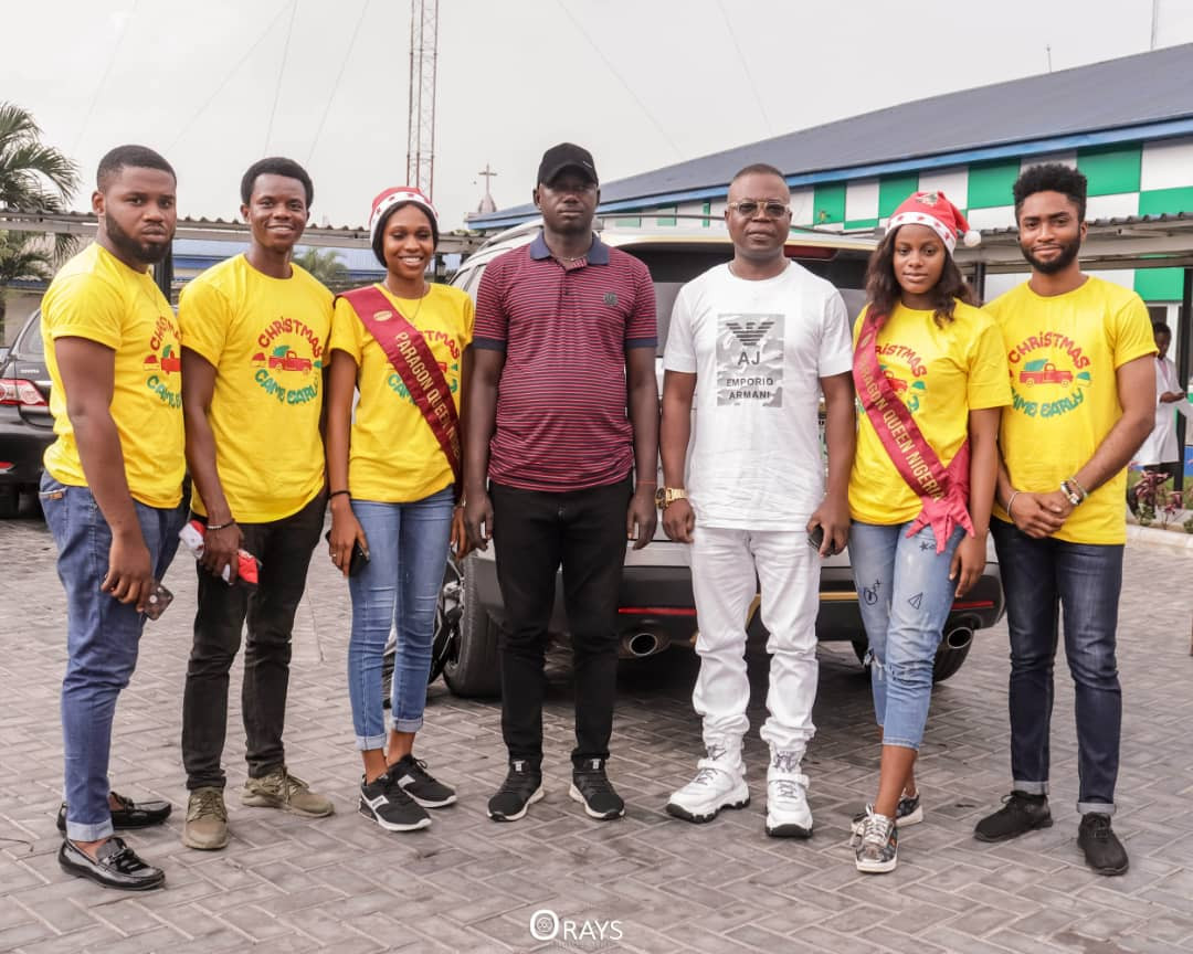 Paragon Queen Nigeria Pageant Organisation donates wheelchairs, bags of rice and pay off bills at Rivers State Teaching Hospital