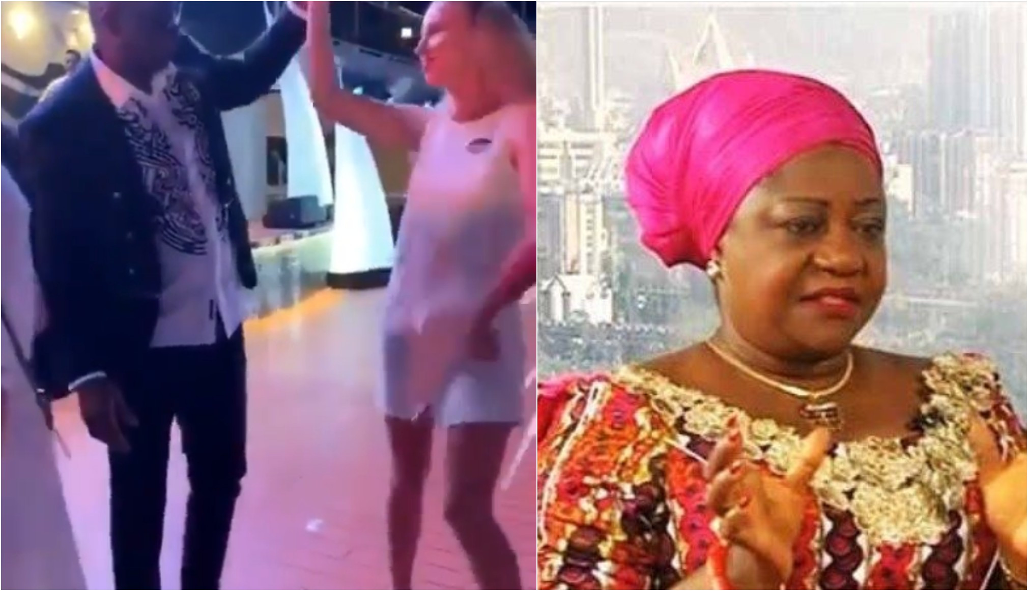 Fayose found dancing with a white woman thumbnail