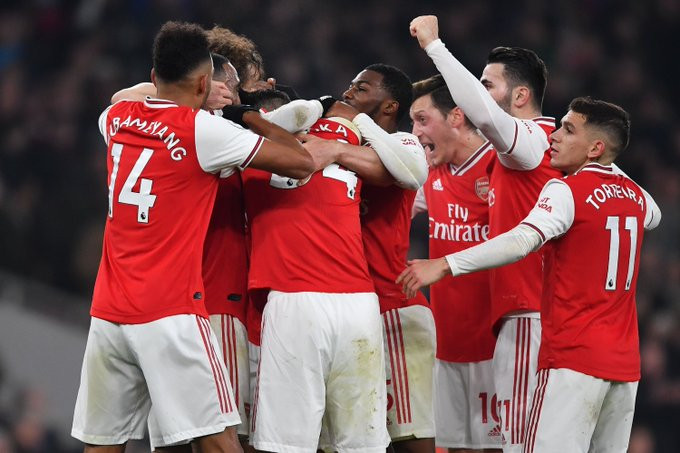 Amazing Arsenal beat Manchester United 2-0, handing Mikel Arteta his first win as manager (Match round-up photos)