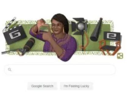 Google Doodle honours late Nigerian filmmaker, Amaka Igwe on 57th posthumous birthday