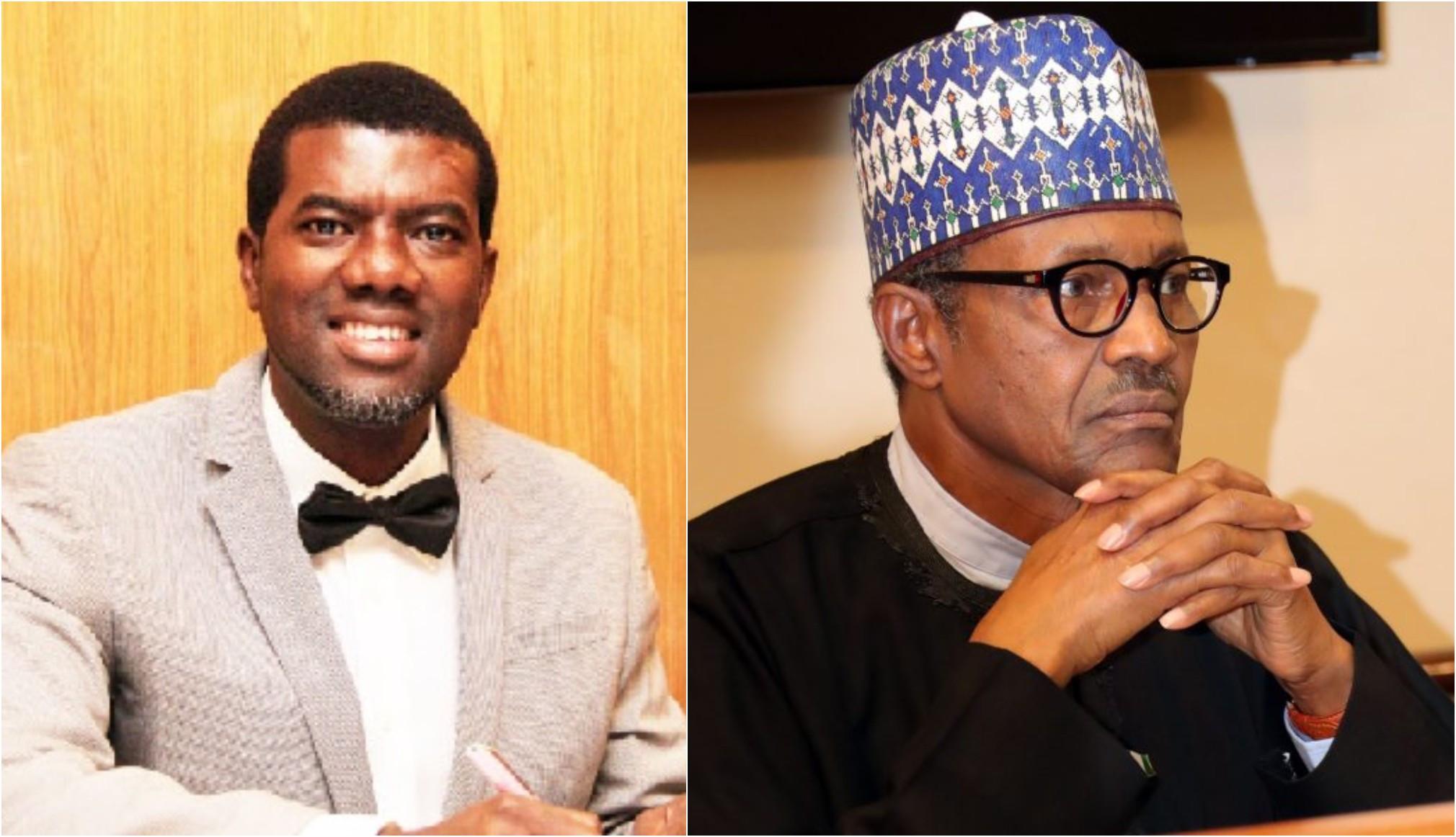 Borrow wisdom not billions - Reno Omokri tells Buhari