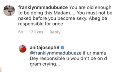 Anita Joseph and trolls fight dirty over her semi-nude bathtub video