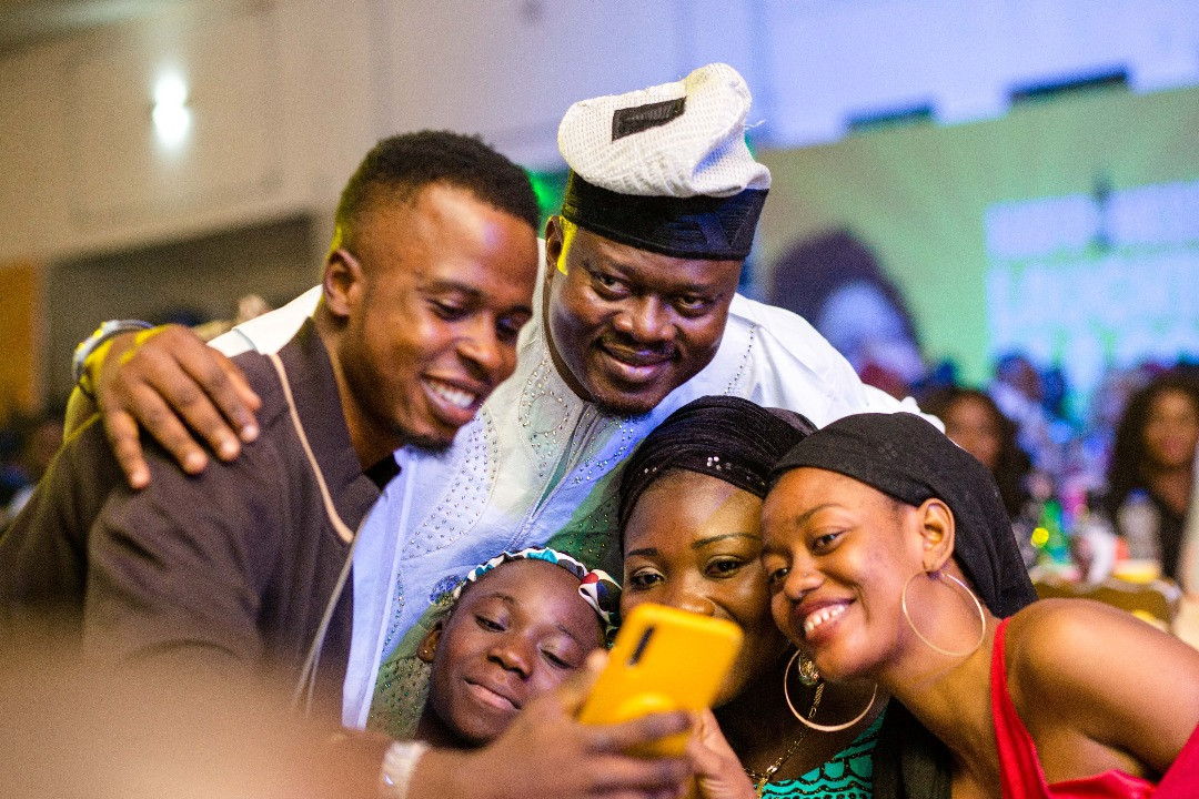 Muyiwa Ademola, Woli Agba, Dele Omo Woli, Deliver Triple Treat At Laf Up Ibadan With Maltina