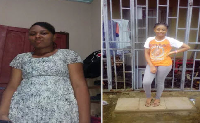 Abuja woman reveals how she went from 85kg to 54kg in few weeks without using coffee, slimming pills or keto diet