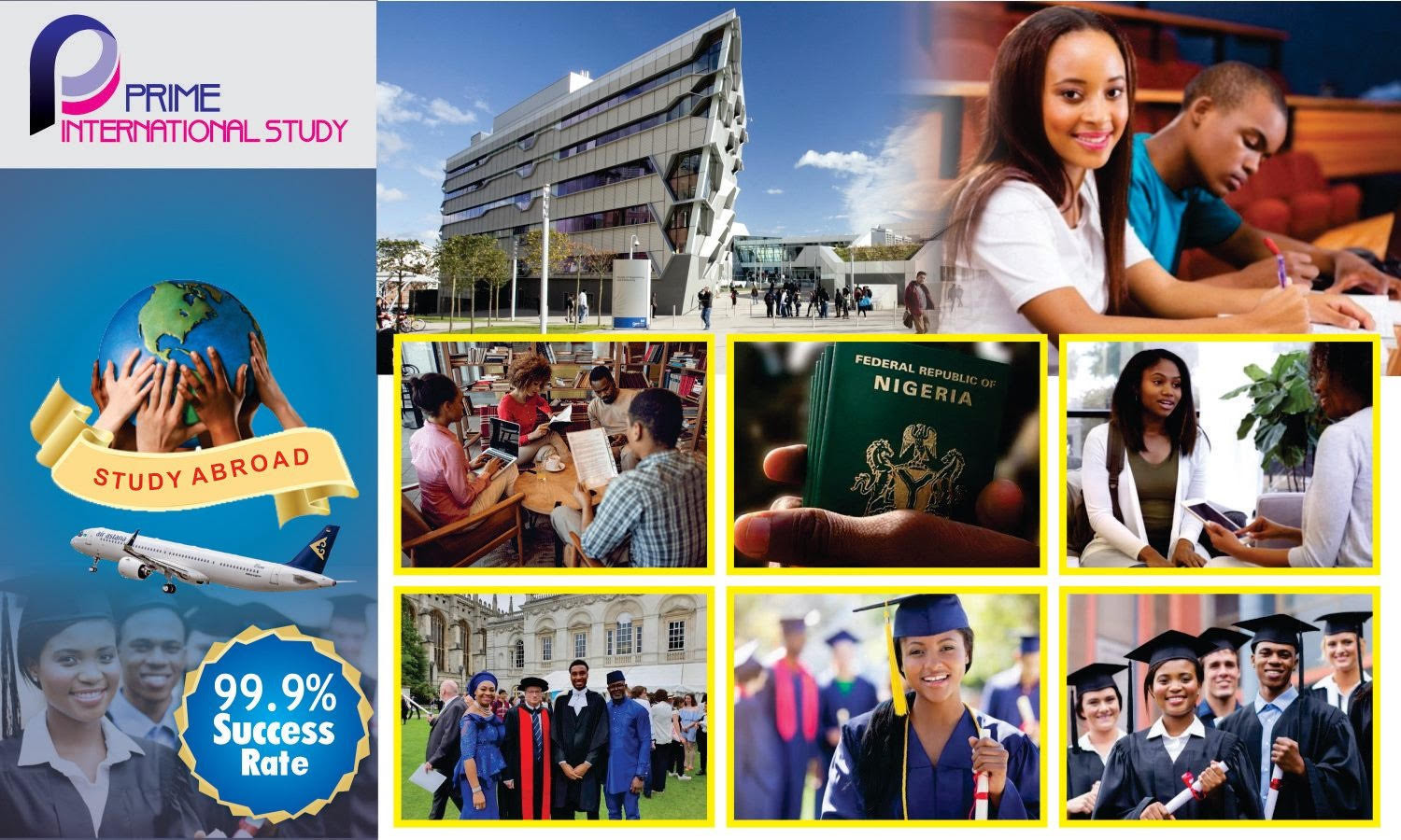 Study and Work abroad opportunities. Prime International Study (PIS) will help you process your admissions into affordable Universities