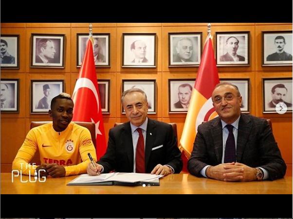 Nigerian striker Henry Onyekuru joins Galatasaray on loan from Monaco (Photos)