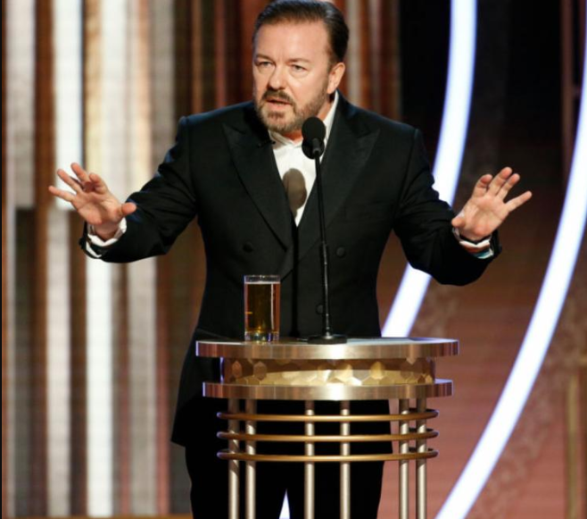 Transcript of Ricky Gervais 2020 Golden Globes opening speech where he blasted celebrities  (video)