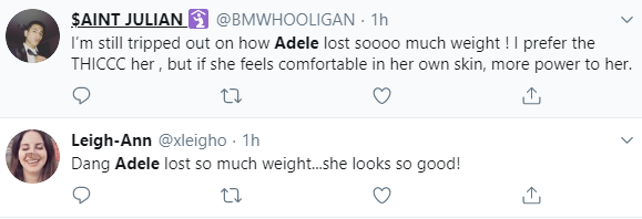 """""""Adele blink twice if you need help"""" Fans express concern as Adele loses even more weight"""