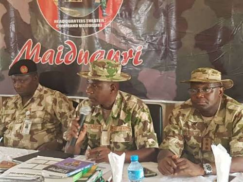 Theatre Commander of Operation Lafiya Dole attacked by Boko Haram