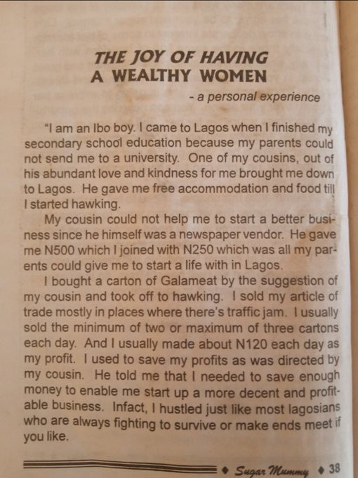Nigerian man shares photos of