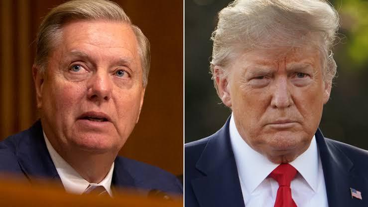Senate Judiciary leader Lindsey Graham warns Iran & gives details on Trump