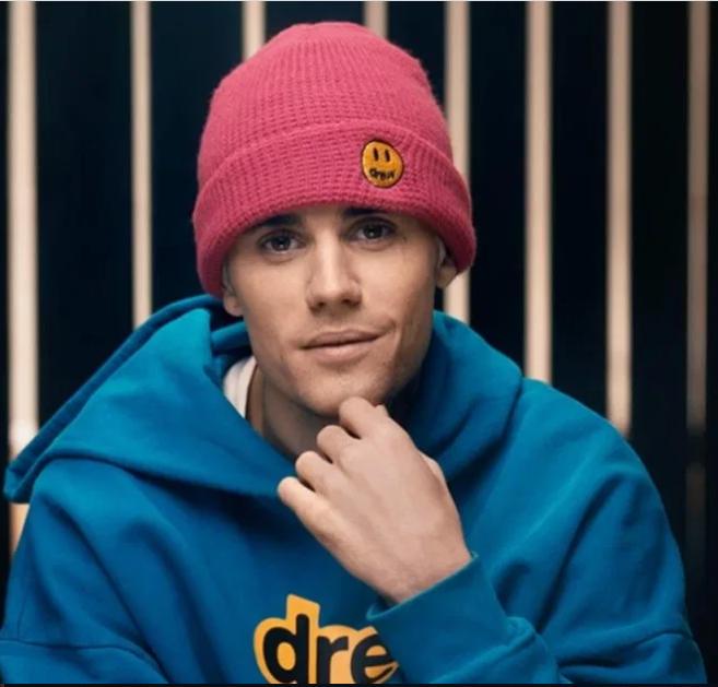 Singer Justin Bieber reveals he