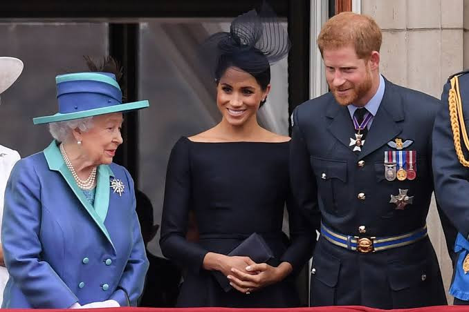 Queen Elizabeth speaks out on Prince Harry and Meghan Markle quitting their roles as senior members of the Royal Family