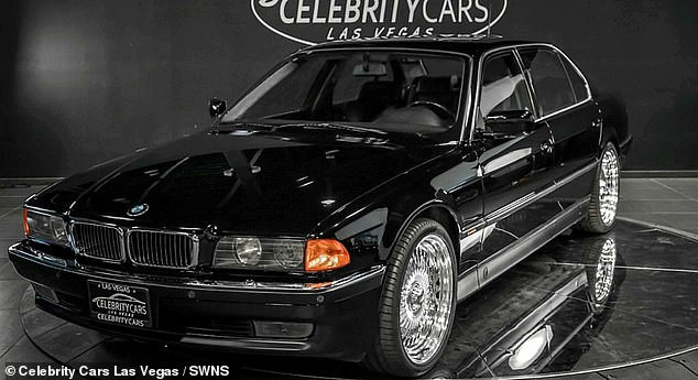 The BMW Tupac Shakur was shot dead in is being sold with bullet holes for $1.75m (See Photos)