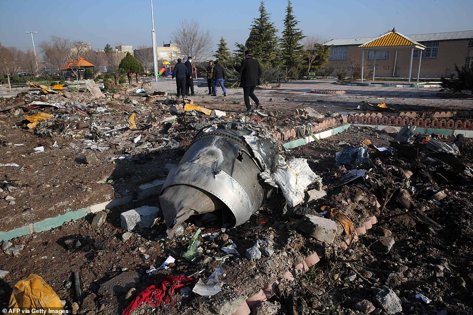 Ukrainian airplane which crashed was shot down by Iranian anti-aircraft missile - Pentagon and US Intelligence officials