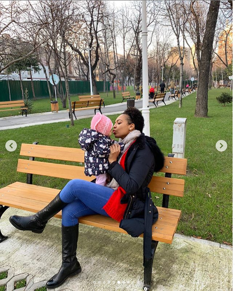 TBoss shares beautiful family photos with her baby daughter and mother