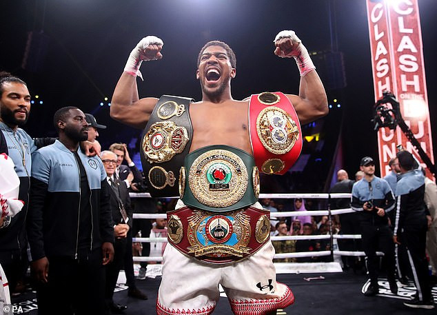 Anthony Joshua given deadline to agree terms to fight Kubrat Pulev or he risks losing his IBF belt