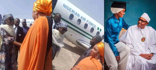 Buhari?s wife and children are entitled to presidential jet - Garba Shehu