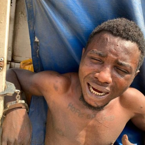 Wanted cult leader arrested in Lagos
