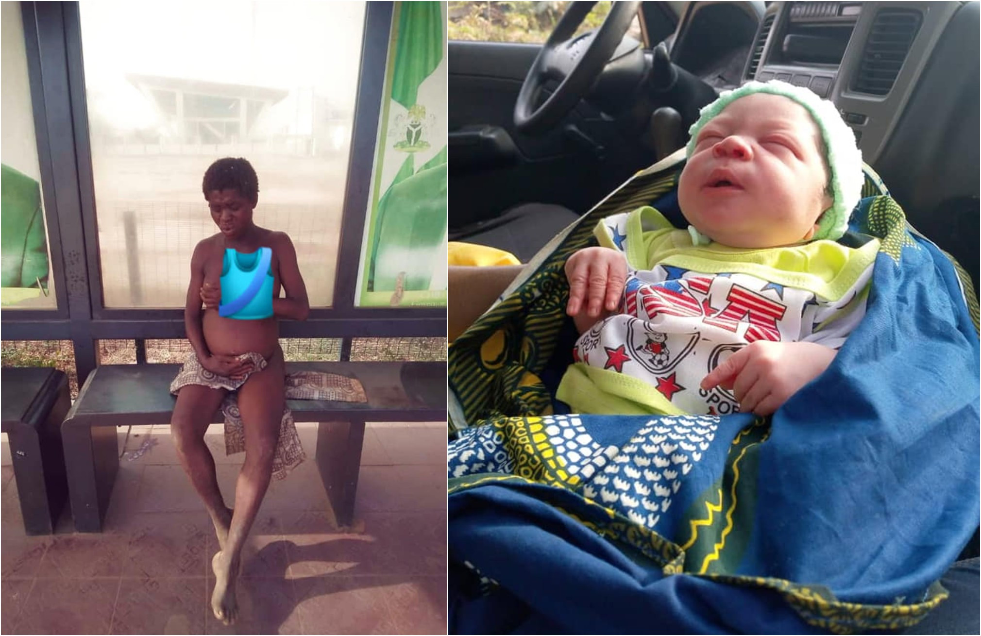 Image result for Photos Of Mentally Challenge Woman Who Gives Birth In Anambra That Got Every On Talking