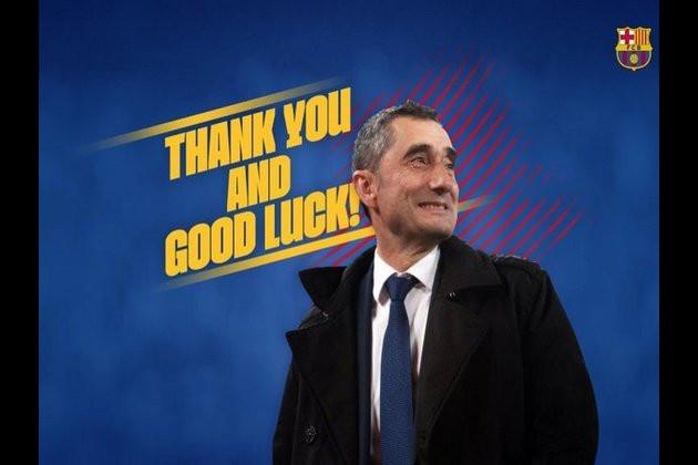 Barcelona sack Ernesto Valverde and appoint Quique Setien as new coach