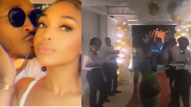 Future goes all out to celebrate Lori Harvey on her 23rd birthday (video)