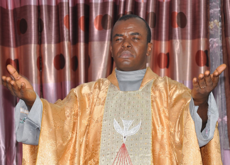 Image result for images of Father Mbaka