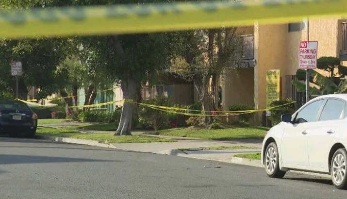 Nigerian man shot dead outside his apartment complex in California (photos)