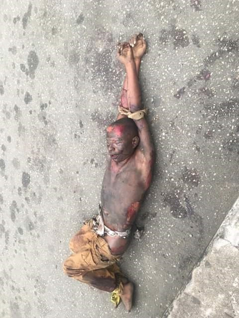 """Image result for Corpse of suspected petty criminal found dumped on the street in Calabar"""""""