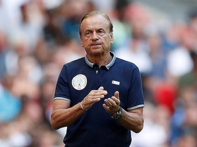 NFF now ready to begin contract negotiations with Gernot Rohr, just 6 months before end of his contract