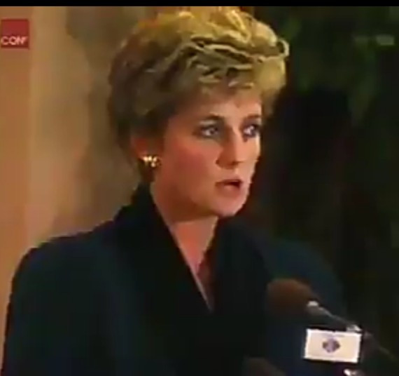 Old video resurfaces of Princesss Diana telling the world she was scaling back on her royal duties because the press attention was getting too much