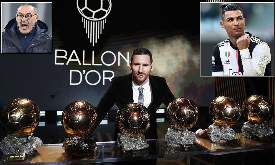 Lionel Messi having more Ballon d'Or wins than Cristiano Ronaldo is 'really annoying' - Juventus coach, Maurizio Sarri says
