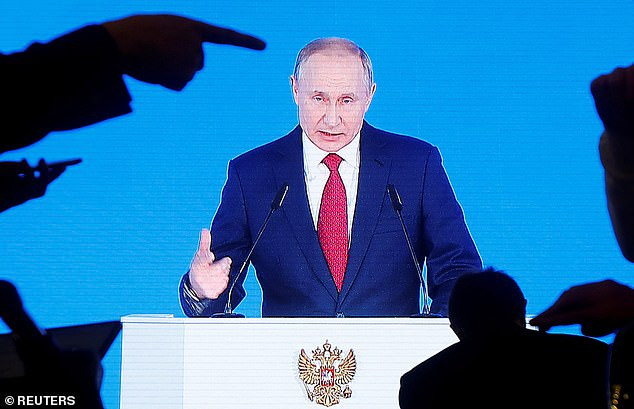 'I'm sure the Russian people will support me': Putin is confident of becoming Russia's leader for life after changing the constitution