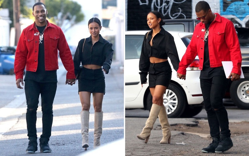 Former NFL star Victor Cruz confesses he ?loves? Karrueche Tran enough to marry her