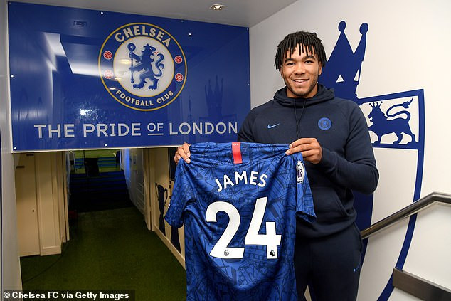Chelsea defender Reece James signs new five-year deal worth ?25million