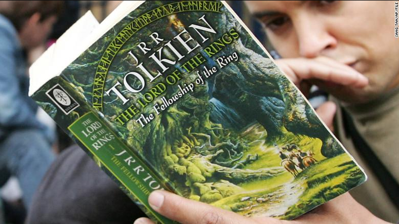 Christopher Tolkien, the son of