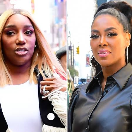 Nene Leakes reacts to claims that she spat on Kenya Moore on the most recent episode of Real Housewives of Atlanta