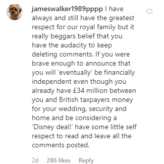 Instagram users take to Prince  Harry and Meghan Markle
