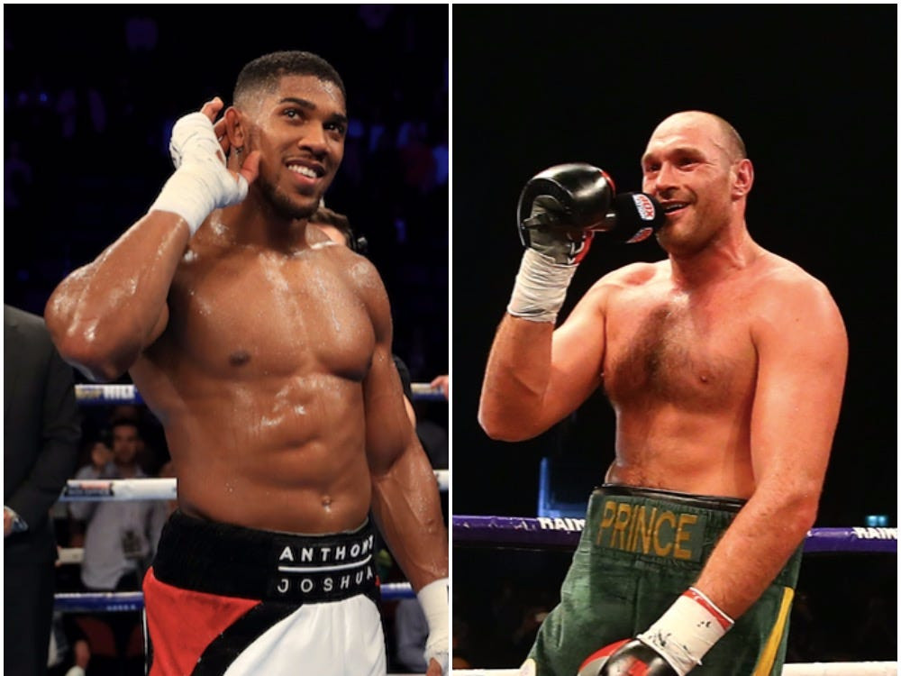 'Let's face it, he's nothing like Wilder' - Tyson Fury blasts Anthony Joshua for not keeping to his promise of training with him