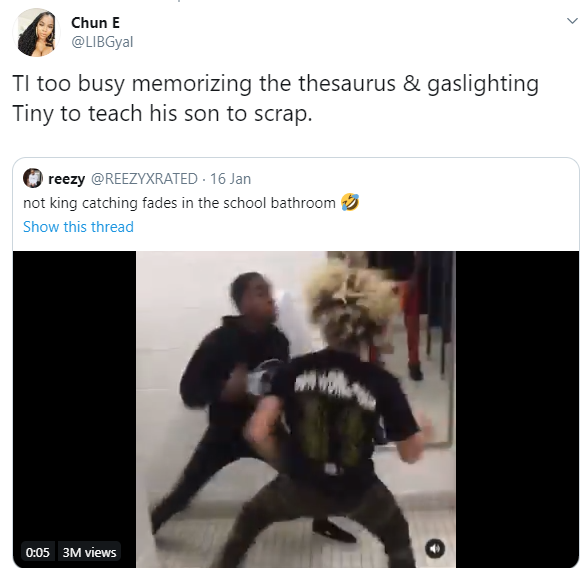 """TI is too busy checking hymens instead of checking on his son"" Twitter users react as TI"